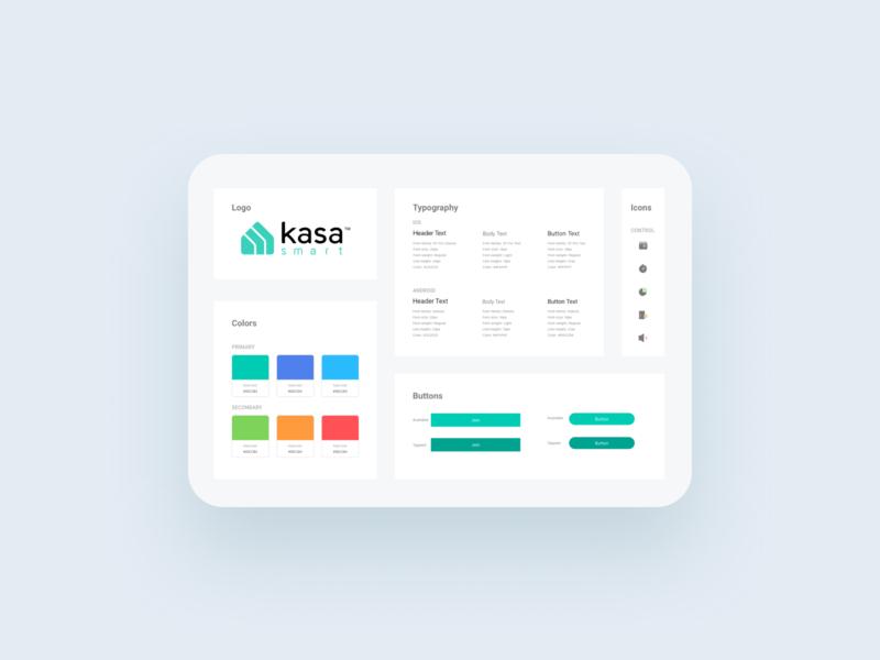 Design System for Smart Home App