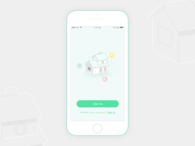 Smart Home Sign-up_wip