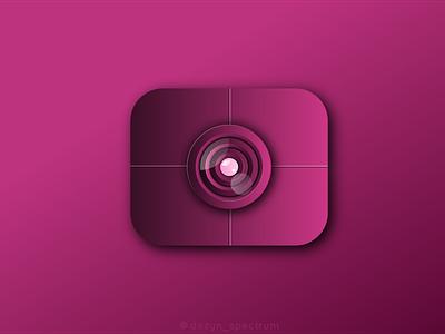Camera Logo inspired by @lelevien ui ux vector illustration logo branding logo graphic design design business logo branding