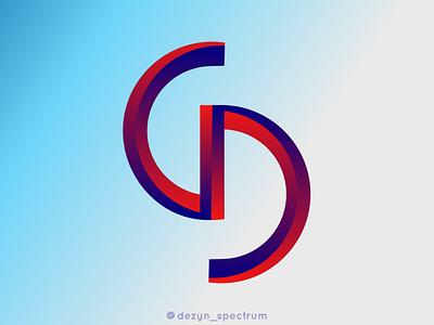CD Monogram ux vector ui illustration logo branding logo graphic design design business logo branding