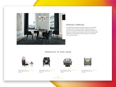 Spacecraft furniture design furniture ui dashboard ui  ux design pro create wireframe invision zeplin sketch prototype interface ui design