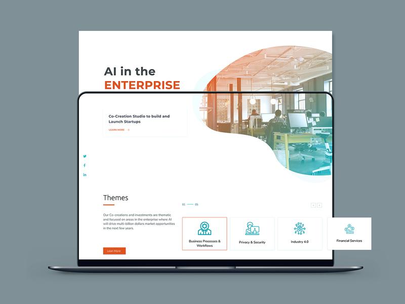 Artificial Intelligence interaction website web ux ui minimal icon illustraion interface art clean design artificial intelligence