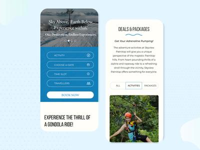 Mobile design website design product design clean modern design design interface adventure travel responsive website mobileui mobile