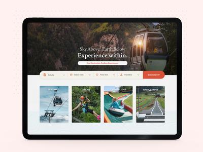 Travel Website Design Exploration popular clean color orange dribbble uiux responsive travel app travel illustration interaction ux prototype interface ui design