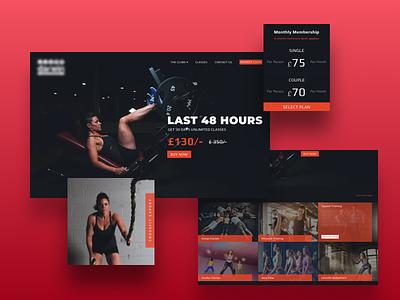 Fitness Website fitness training gym fitness responsive design website