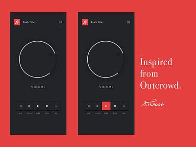Music App free concept color gradients vector redesign sketch ui illustration visual design uidesignpatterns music application uidesign