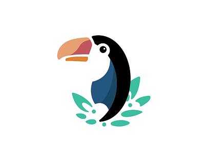 Toucan bird animal logo vector toucan