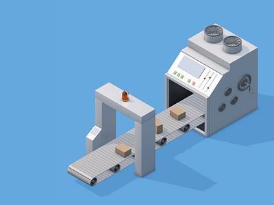 Mini Machines 2 industry mini machine machine render illustration 3d art 3d cinema4d