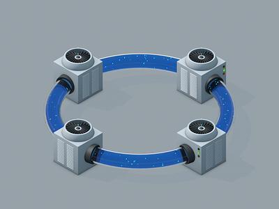 Mini machines 4 c4d render mini machines design illustration cinema4d 3d