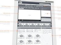 New wireframe layout