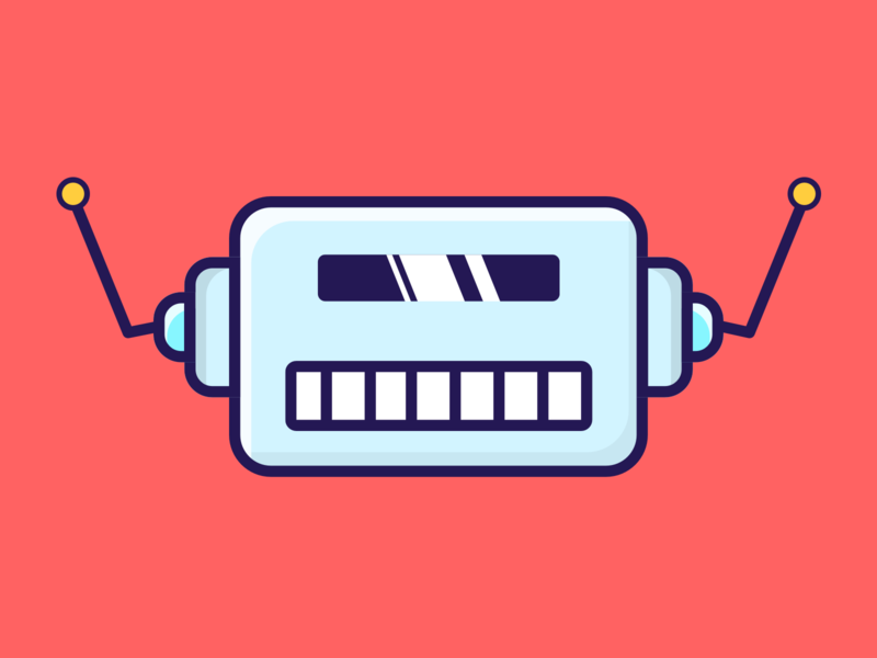 Uchimabot 0001 illustraion robots robot