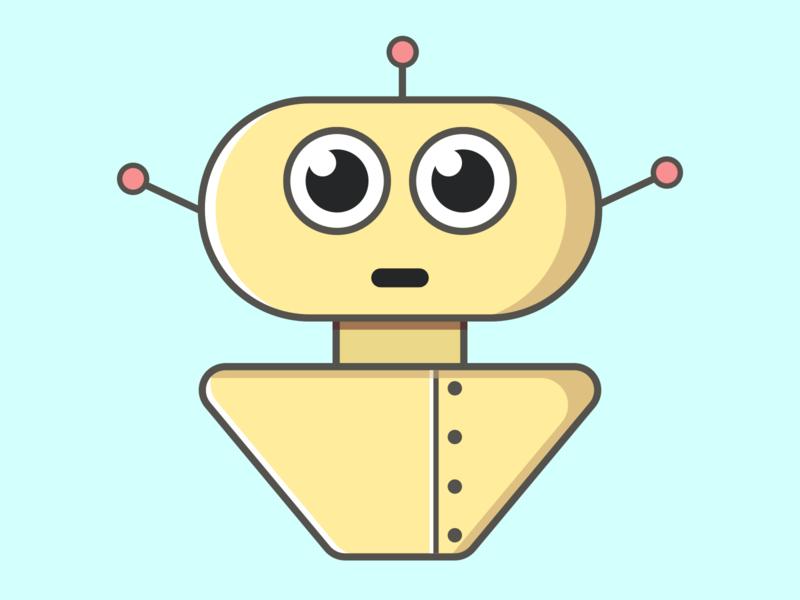 Uchimabot 0002 robots robot illustration