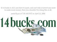 14bucks Header