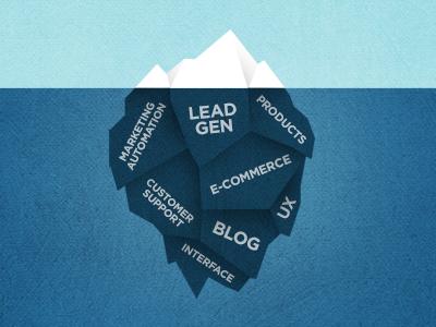 Iceberg Illustration illustration iceberg