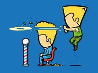 Part Time Job 033 - Haircut Salon