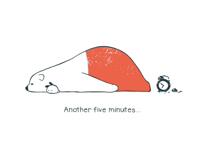 Tu and Ted - Snooze story storytelling illustration chow hon lam art rabbit bunny polar bear bear tu and ted
