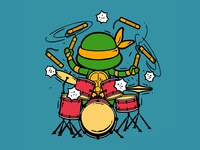 Part Time Job 040 - Drummer