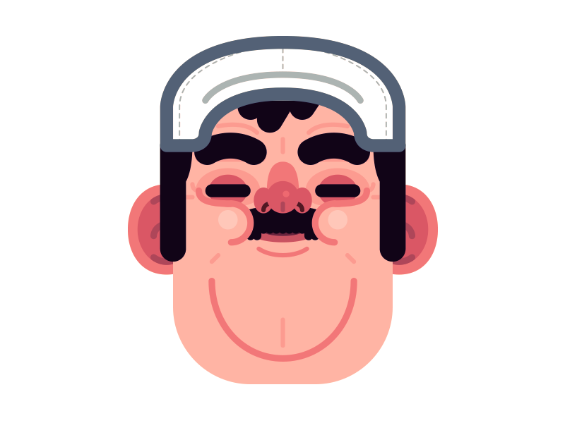Pop Racer speed racer minimal illustrator pop