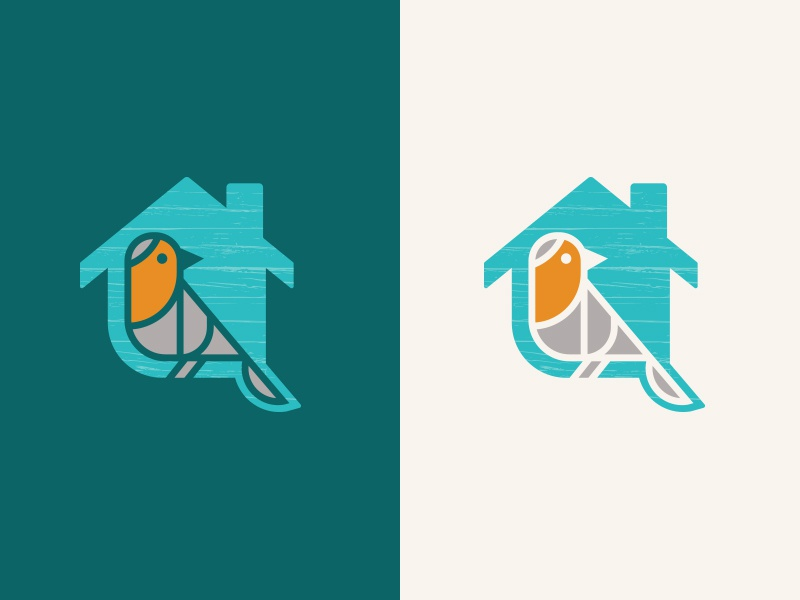 Prime Unused Bird House Logo By Peter Hershey On Dribbble Home Interior And Landscaping Ferensignezvosmurscom