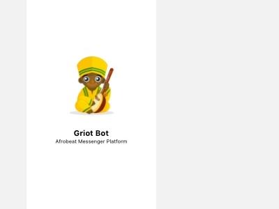 Walkthrough   Griot Chat Bot