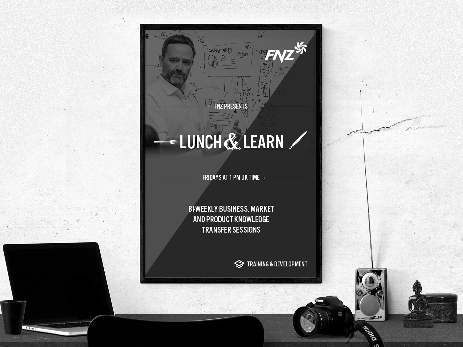 Lunch & Learn Poster poster