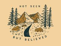 Not Seen, But Believed