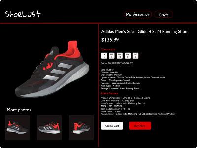 shoe details #figma commerce shoes adidas logo motion graphics graphic design animation 3d design dark checkout branding beginner app ui