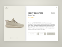 Yeezy Boost Product Card