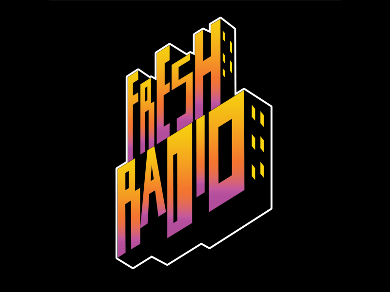 Fresh Radio Logo by Tashawn Jones on Dribbble