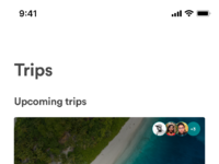 Airbnb group trips home