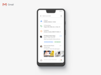 Gmail Material Design 2.0 Update