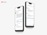 Gmail Material Design 2.0 Update (Message Detail)