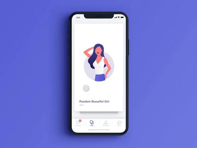 Dating App Swipe