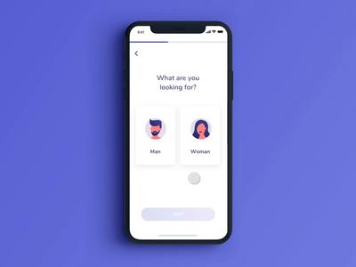 Dating app - Onboarding