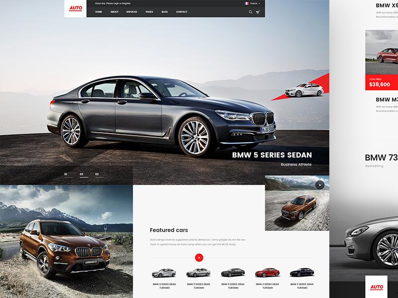 WIP: BMW dealership website dealership cars website bmw site