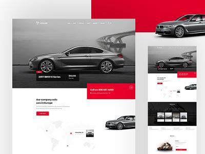 BMW car dealer website dealer bmw car