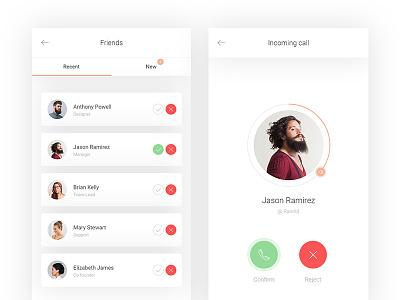 Social app design design app social