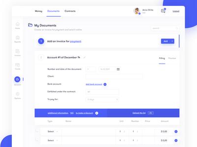 Invoice Dashboard dashboard