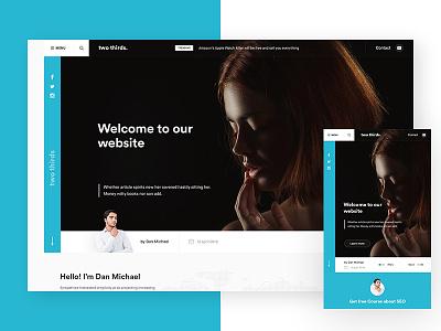 Two thirds website website