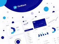 FinWave - finance dashboard WIP