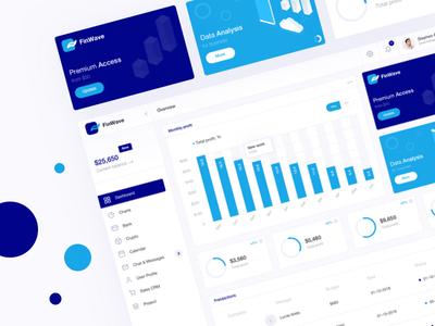 FinWave Dashboard WIP dashboard design ui ux