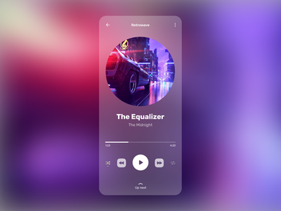 Music Player music app playlist song player music dailyui figma mobile ios app ux ui