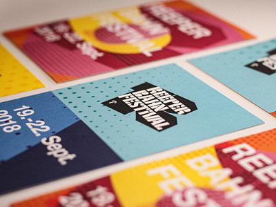 Reeperbahn Festival 2018 Visual Identity design identity branding festival graphic design conference