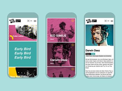 Reeperbahn Festival 2018 Visual Identity website identity music branding festival graphic design design conference