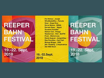 Reeperbahn Festival 2018 visual identity identity music branding festival graphic design design conference