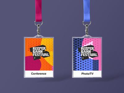 Reeperbahn Festival 2018 visual identity bags shirtdesign swag lanyard visual identity music branding festival graphic design design conference