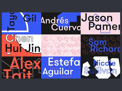 CSSconf EU 2019 stage design identity branding festival graphic design design conference