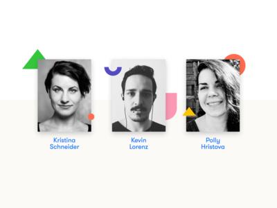 CSSconf EU organizer design website contact shapes team cssconf