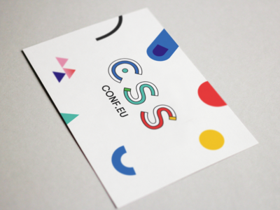 CSSconf EU postcard