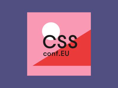 CSSconf EU 2018 design shapes logo conference cssconf favicon